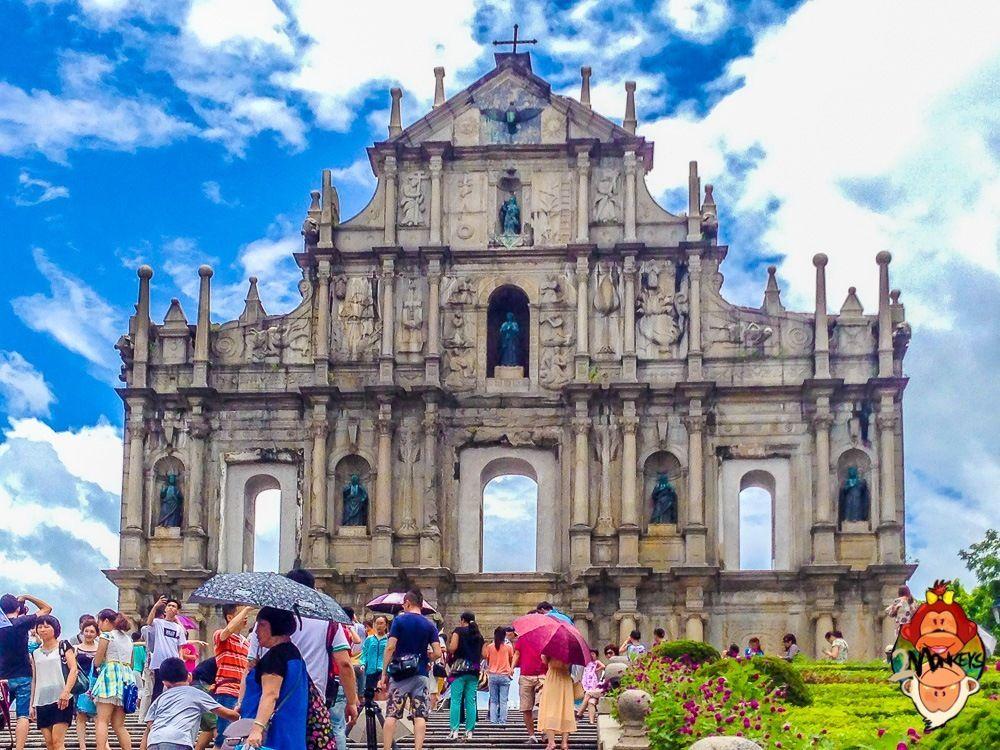 Đi mãi không hết những chỗ đẹp ở Macau lên xuống