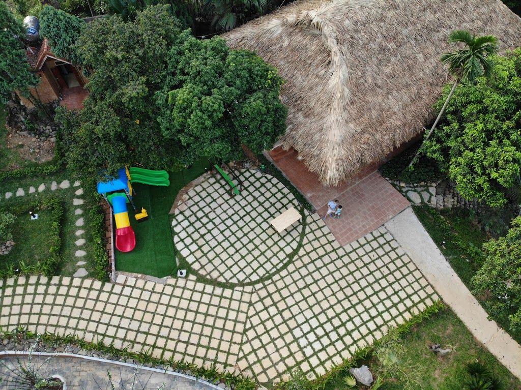 khuon vien may tropical villas homestay ba vi ha noi