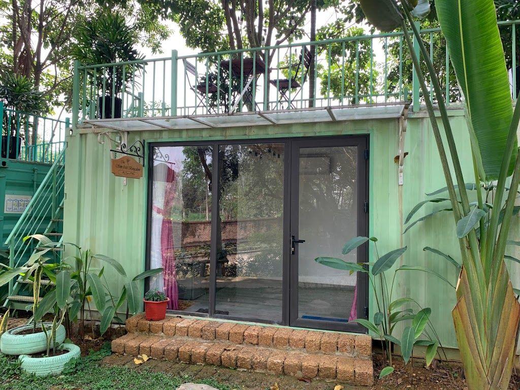 nha container may tropical villas homestay ba vi ha noi