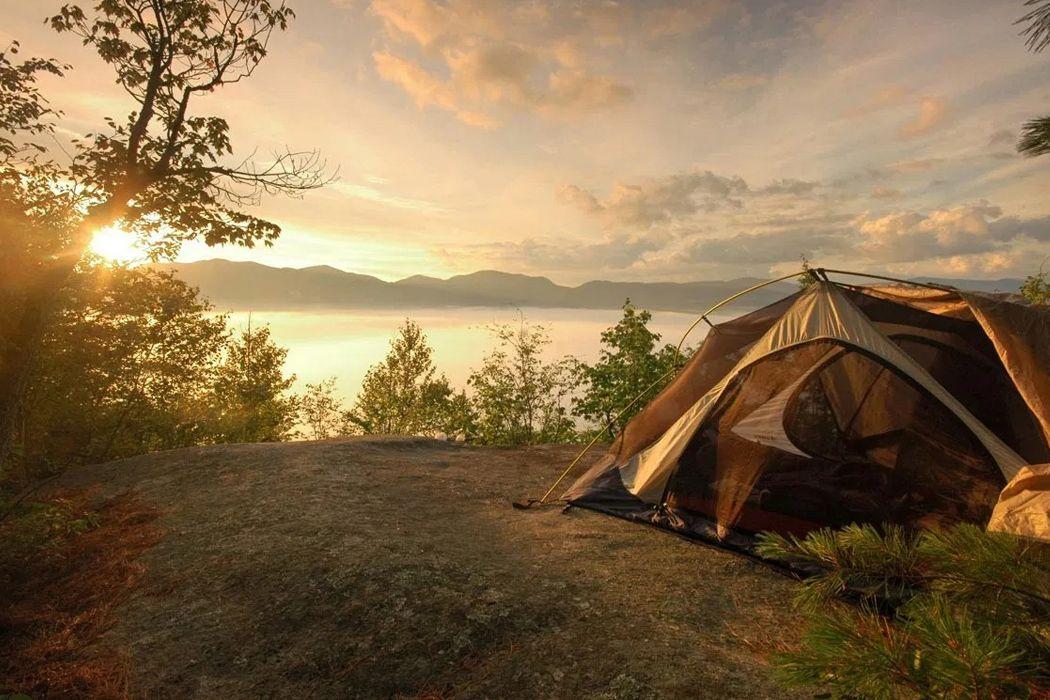 Cắm trại qua đêm tại đồi Thiên Phúc Đức