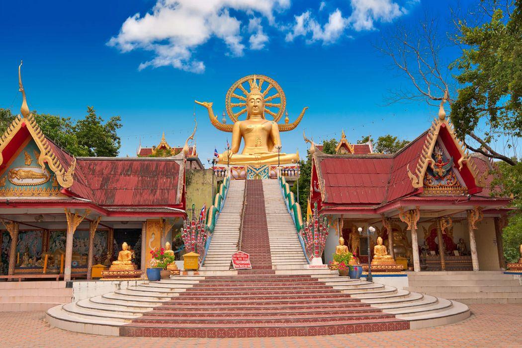 Ngôi đền ở Koh Samui