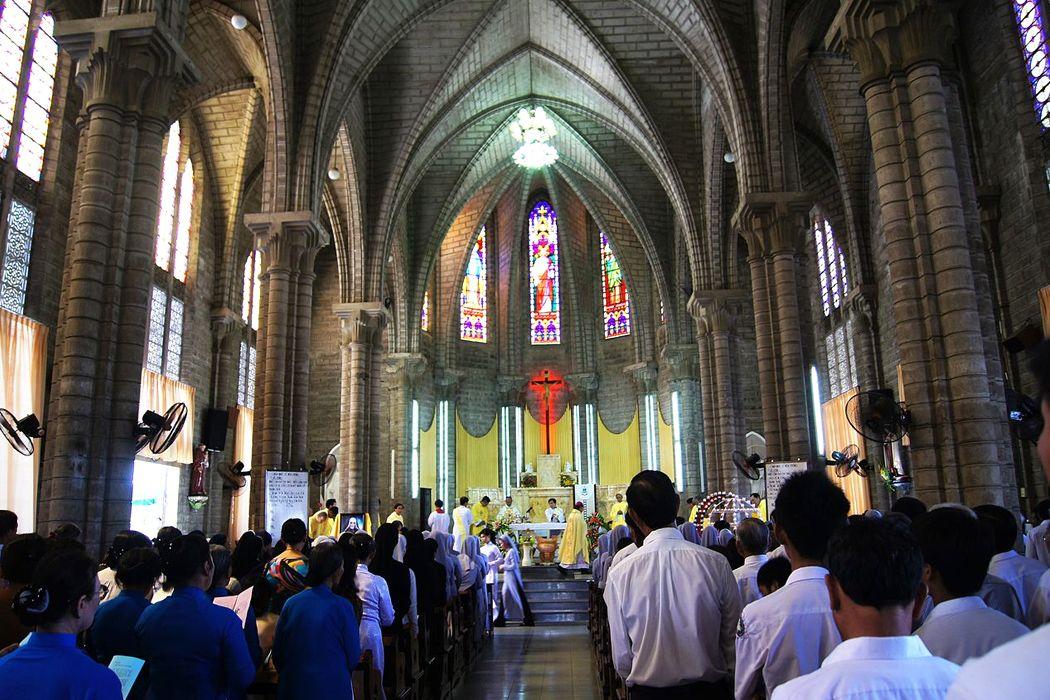 Lễ ở Nhà thờ lớn
