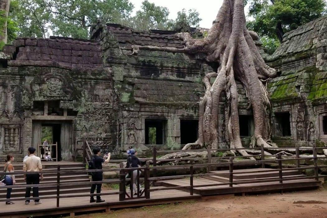 Thăm ngôi đền cổ Ta Prohm