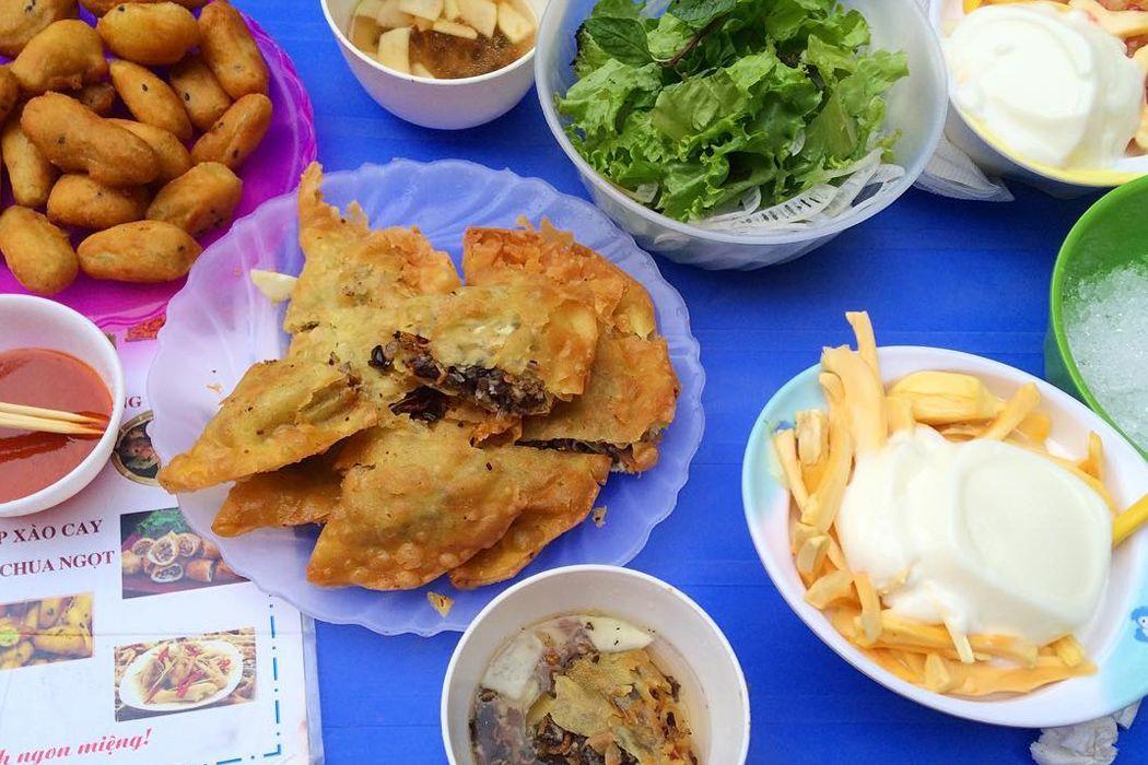 Ăn gì ở công viên Nghĩa Đô