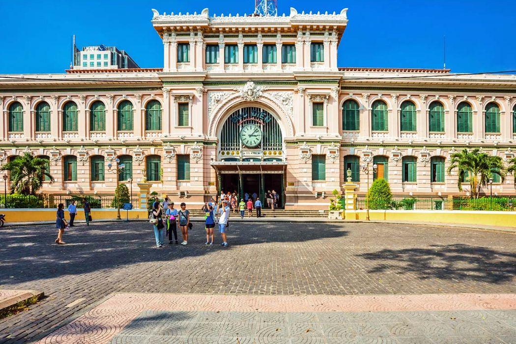 Vị trí bưu điện Sài Gòn