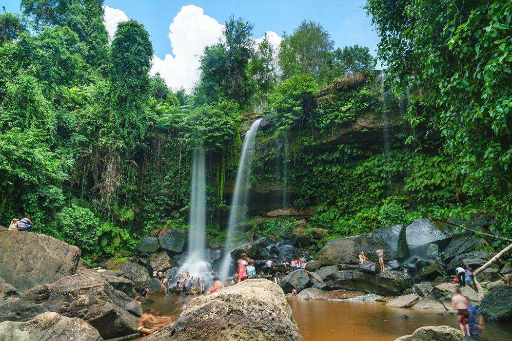 Thả mình vào thiên nhiên tại núi Phnom Kulen