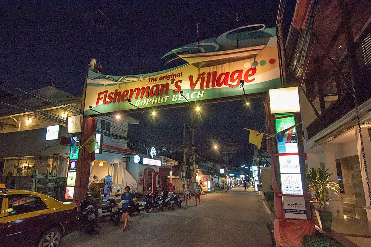 Làng chài BoPhut (Fisherman's Village Samui)
