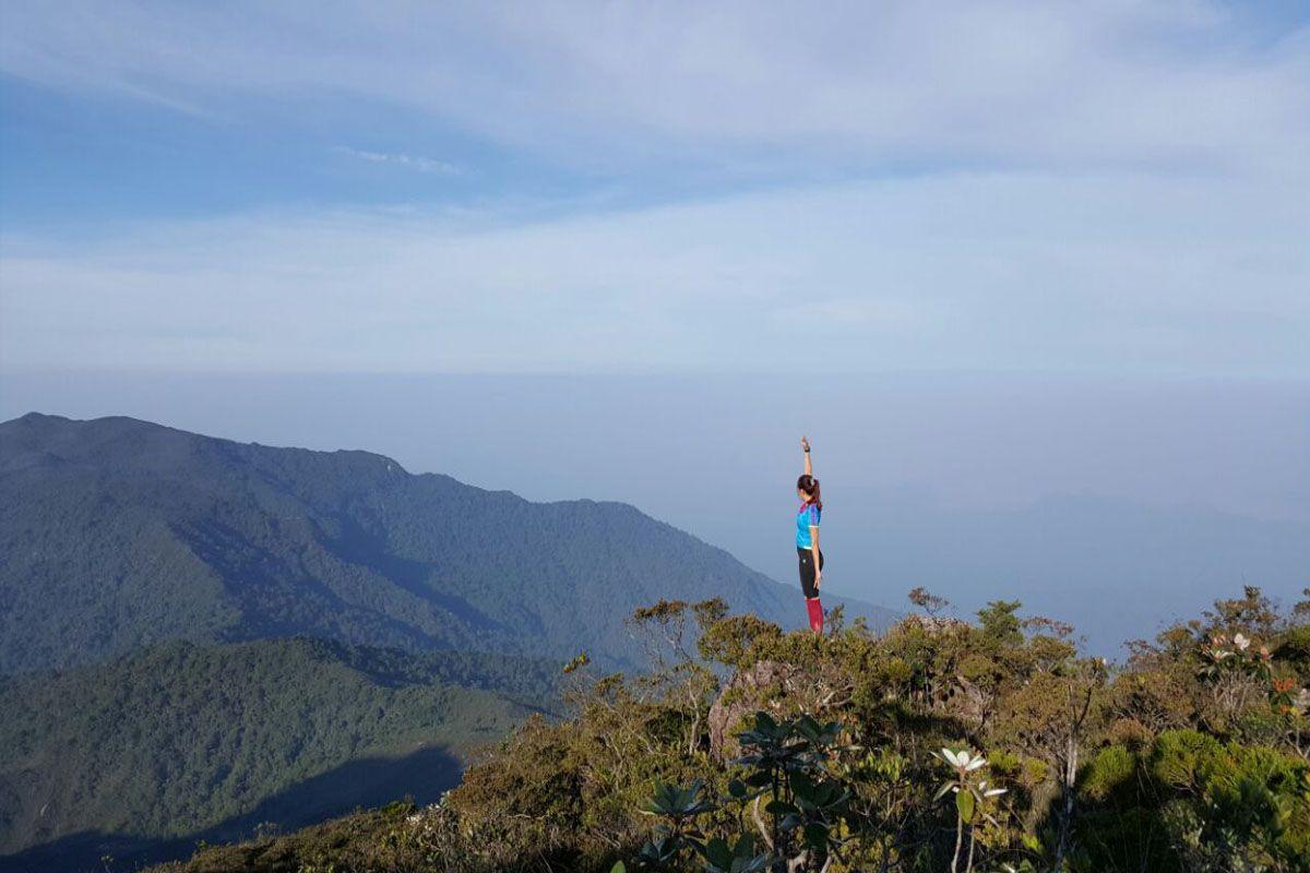 Leo núi Tahan, Malaysia