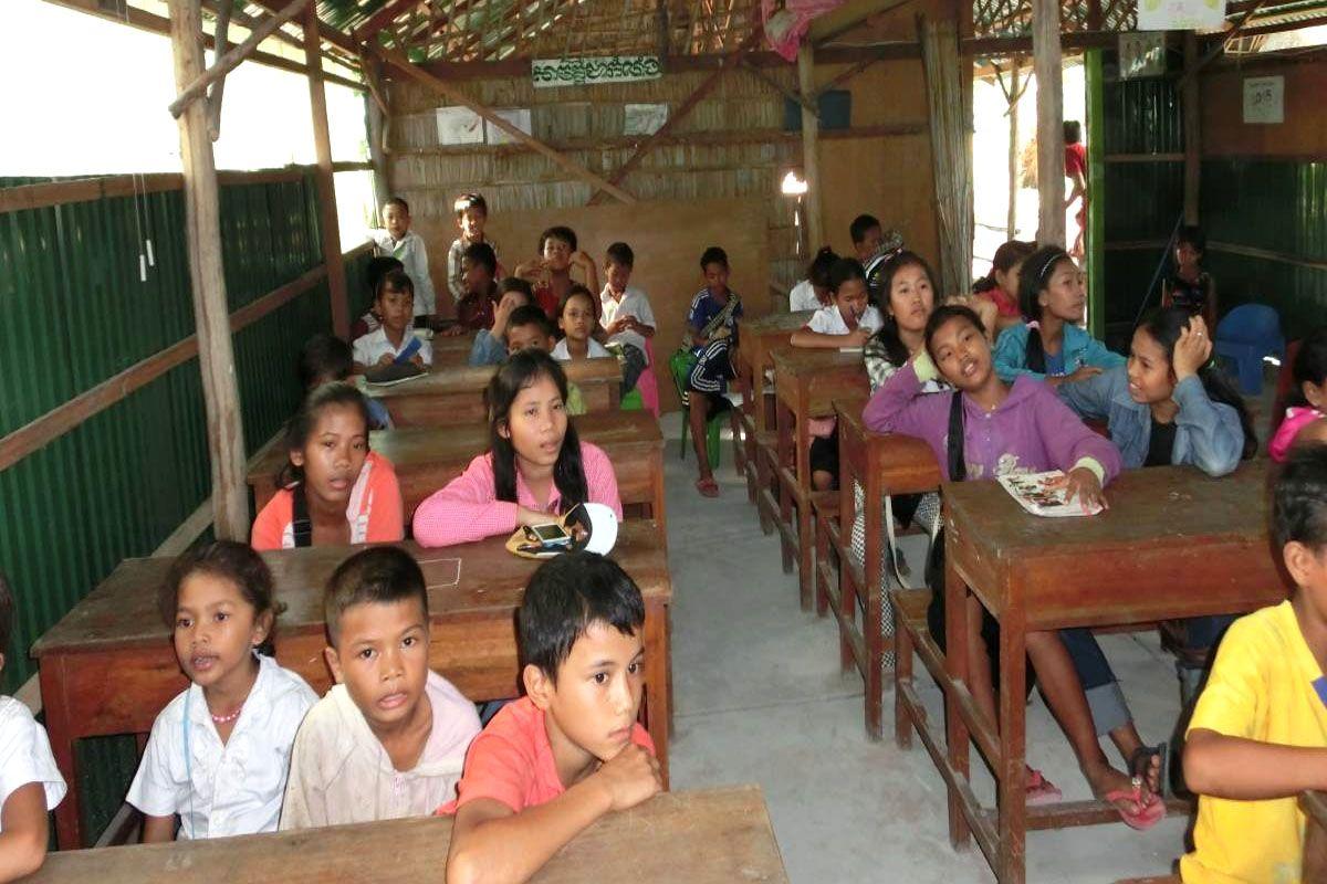 Những người Campuchia vô cùng hiếu học