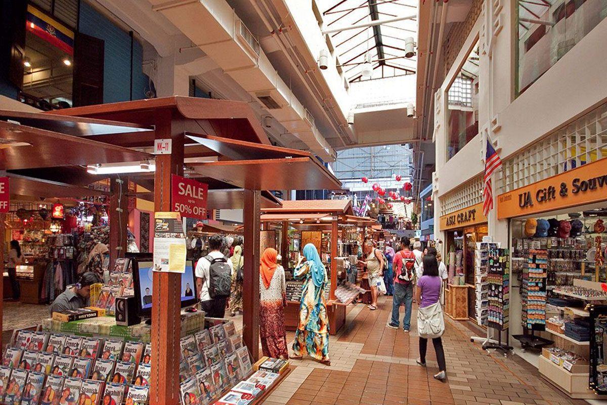 Chợ trung tâm tại thủ đô Kuala Lumpur