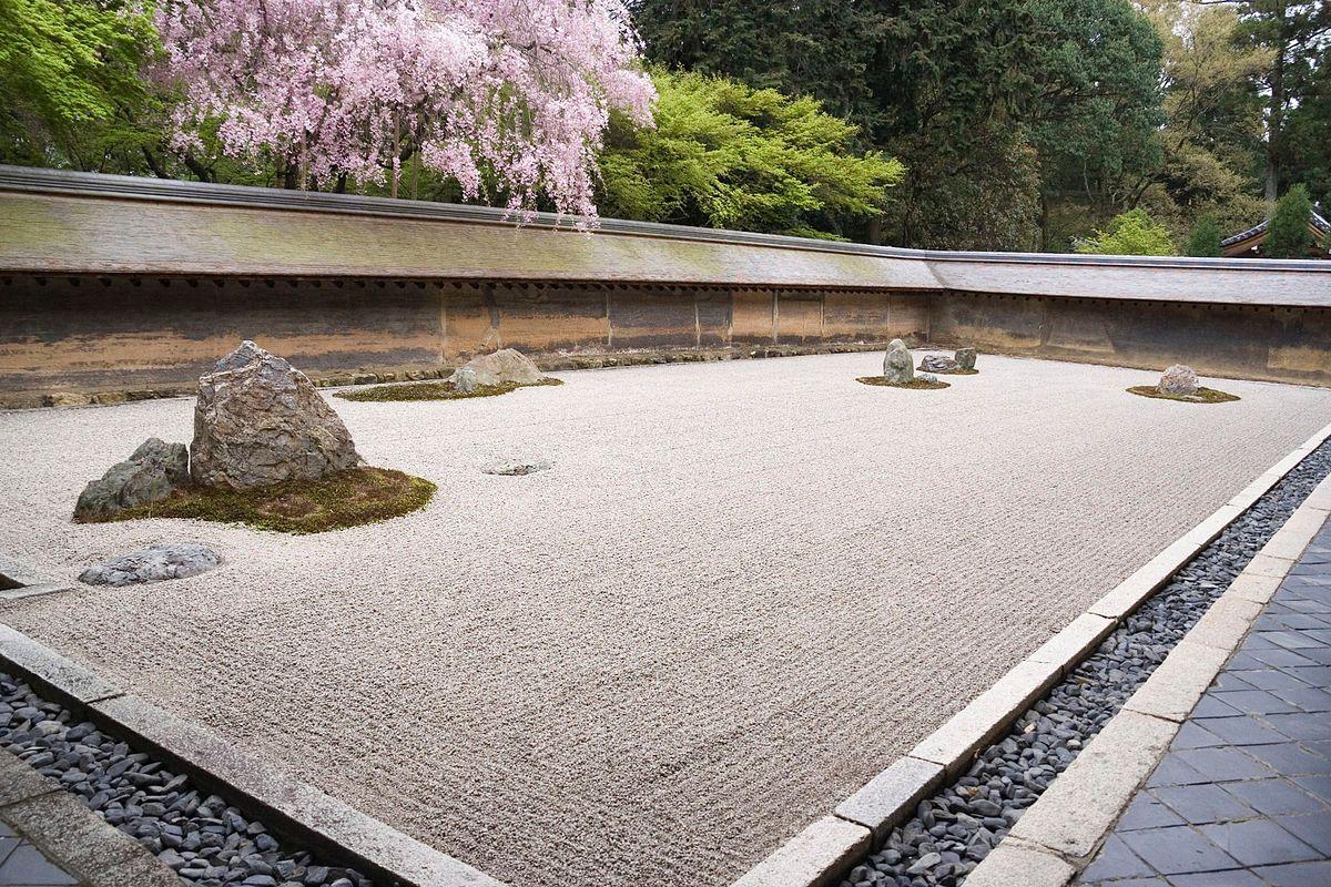 Tìm Zen của bạn tại vườn đá Ryōan-ji's