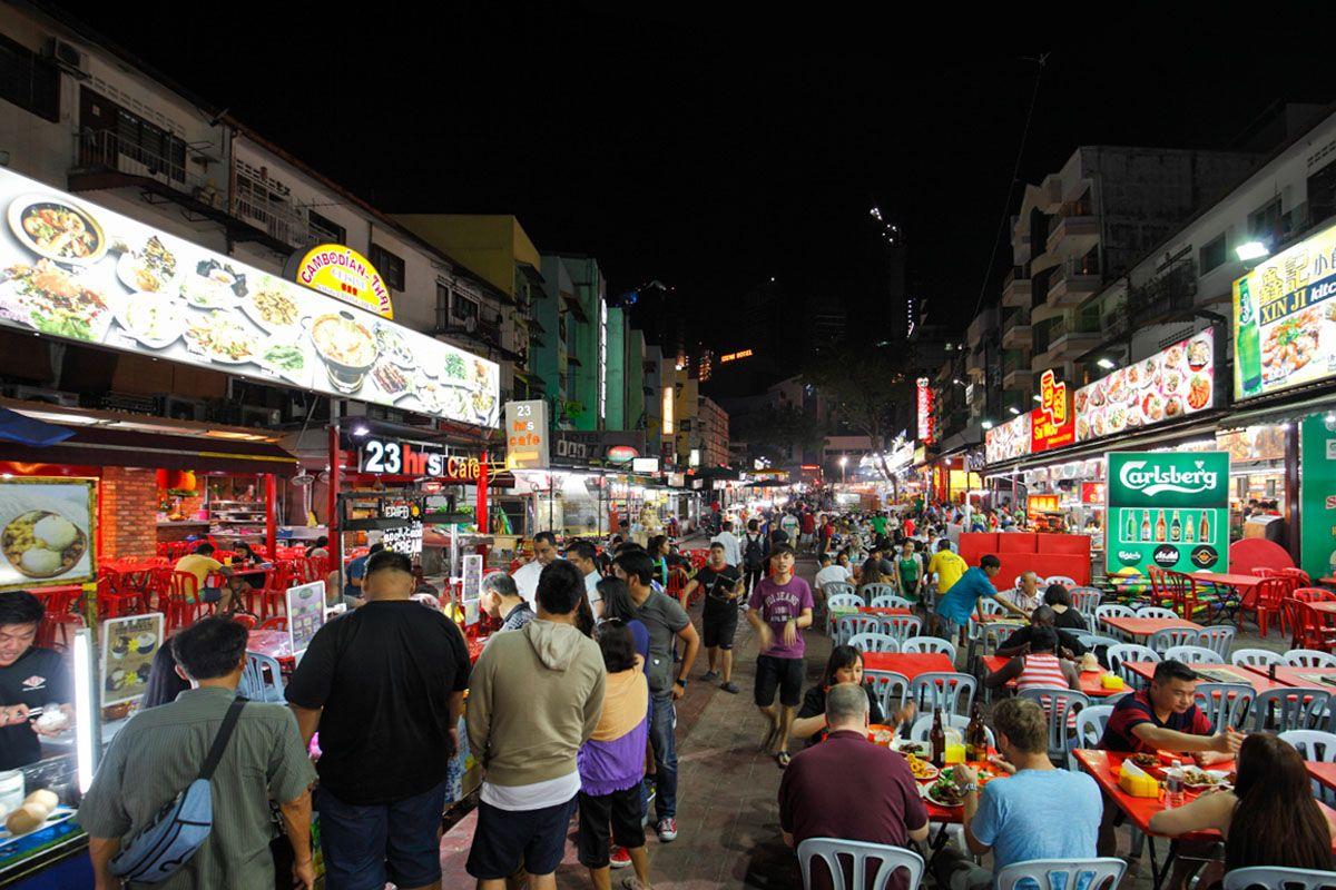Jalan Alor - khu chợ đêm nổi tiếng nhất ở Kuala Lumpur