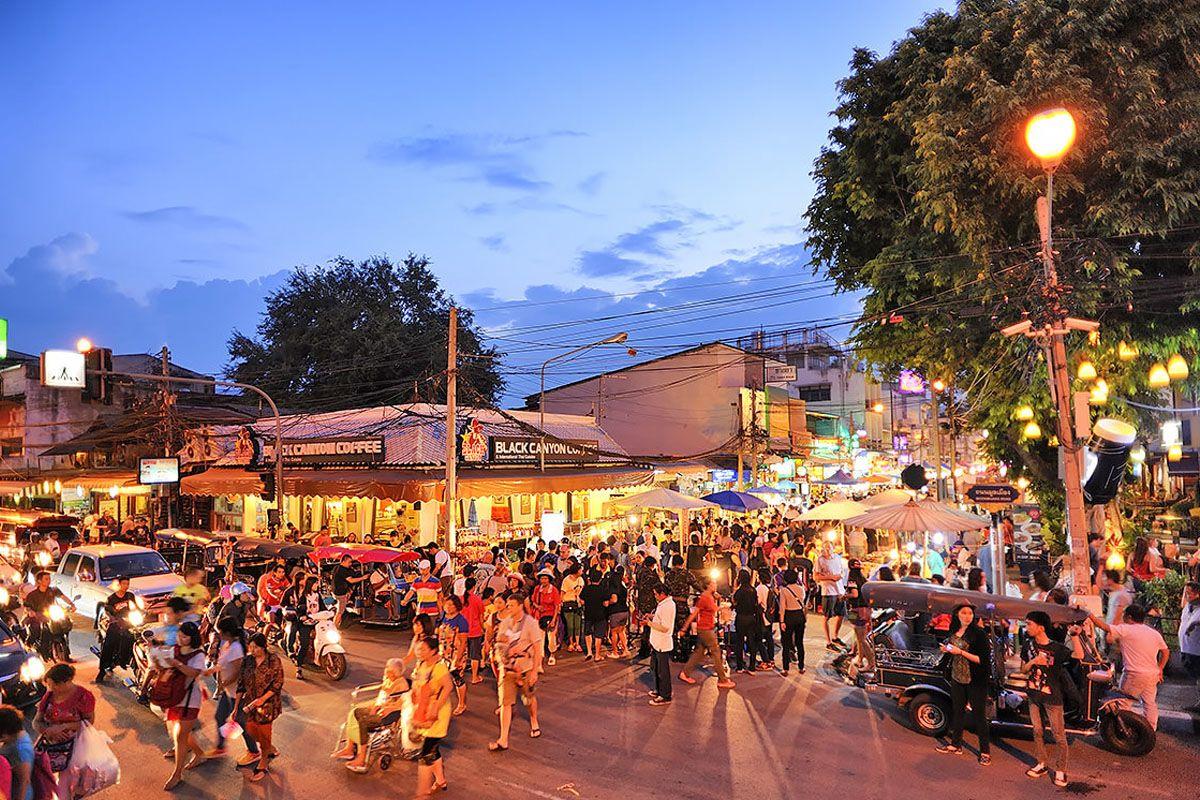 Chợ phố đi bộ