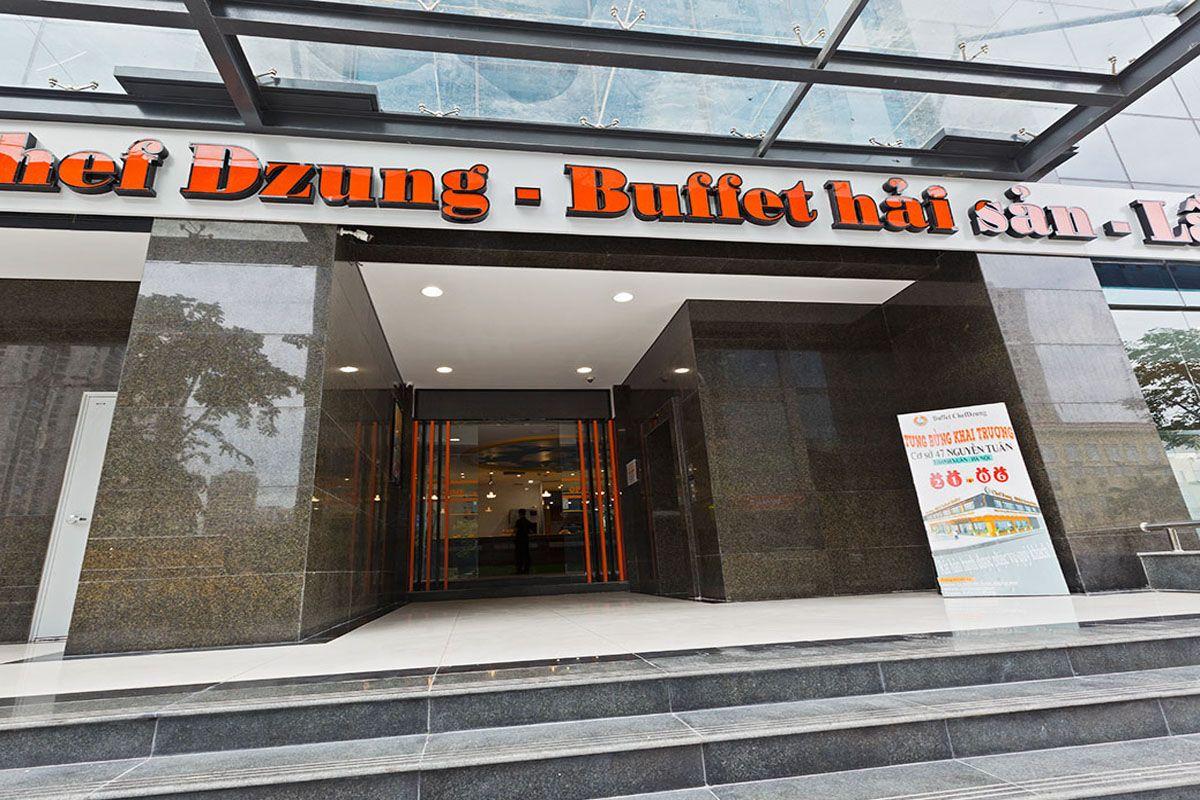 Nhà hàng Buffet Hải sản Chef Dzung