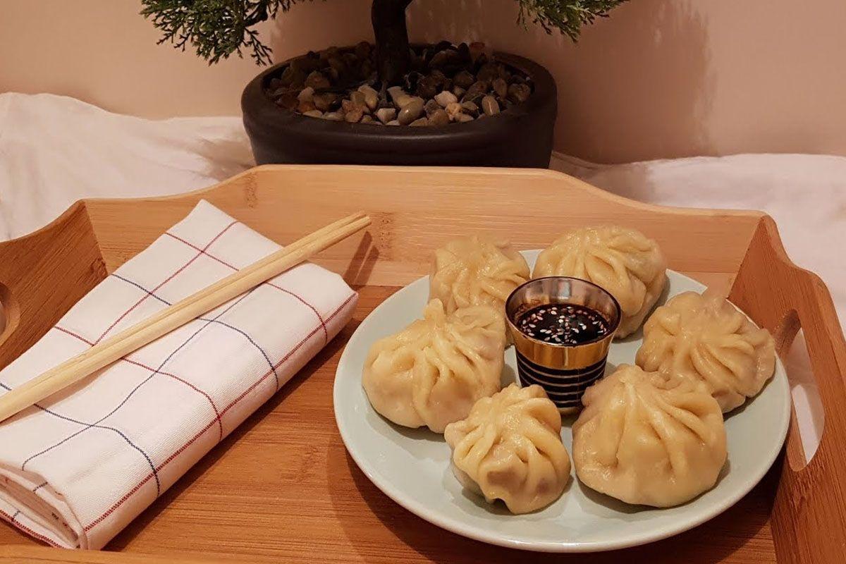 Bánh bao hấp Hàn Quốc