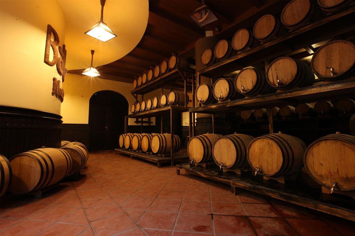 Khám phá hầm rượu Debay trong lòng đỉnh núi