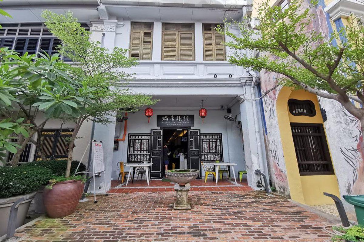 Ryokan Muntri Boutique Hostel