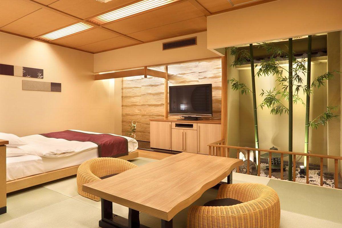 Phòng khách sạn tại Ryokan Takemine