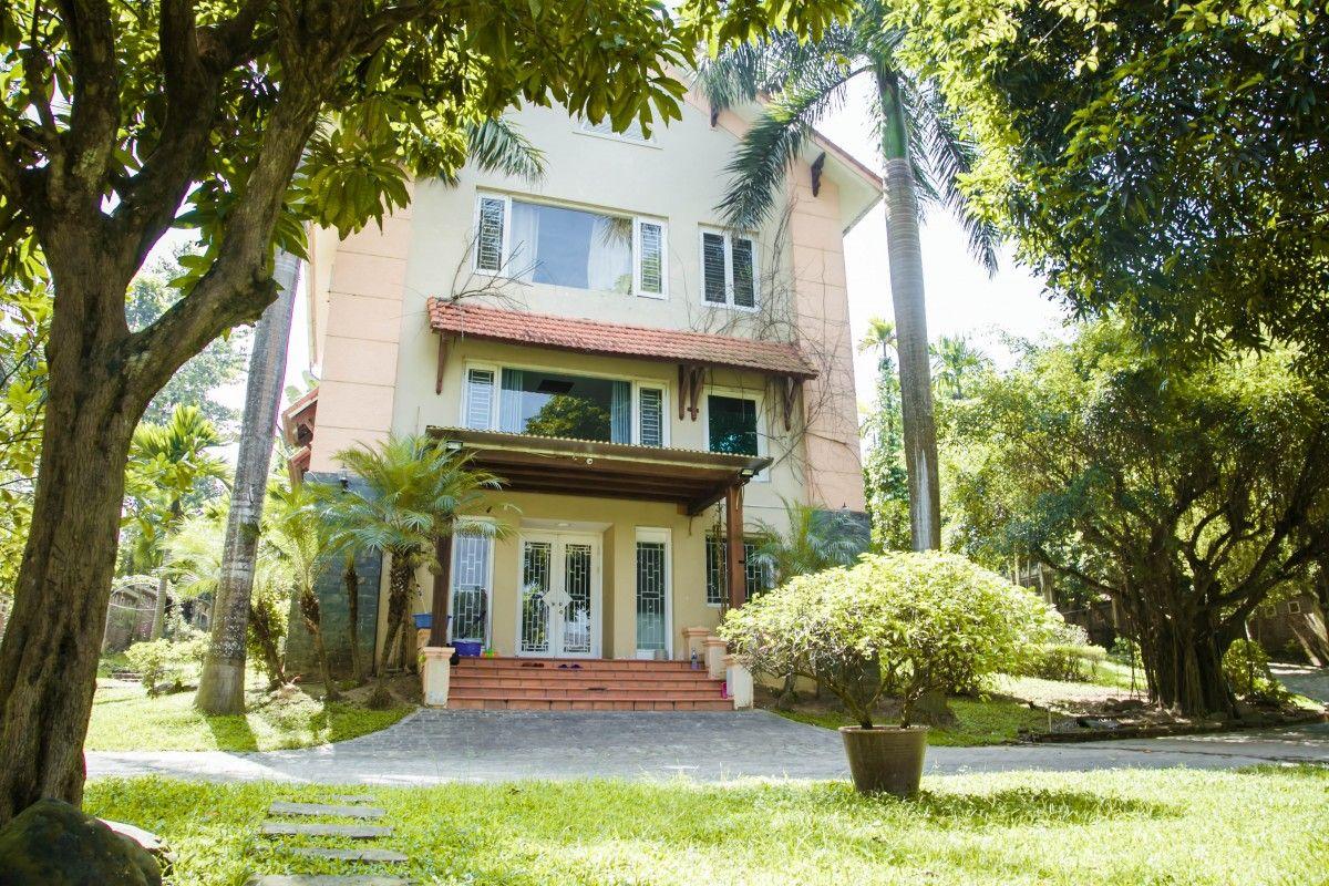 khuon vien tranquil villa homestay thach that ha noi
