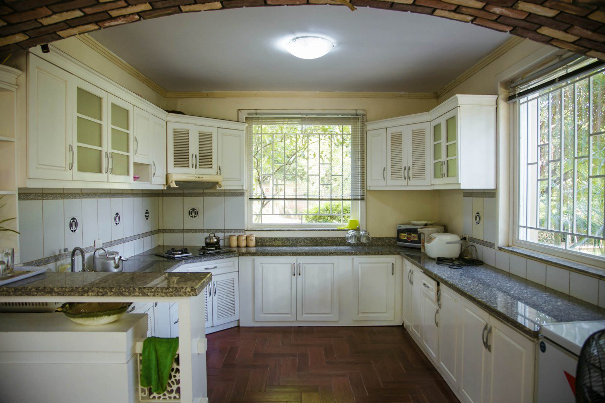 phong bep tranquil villa homestay thach that ha noi