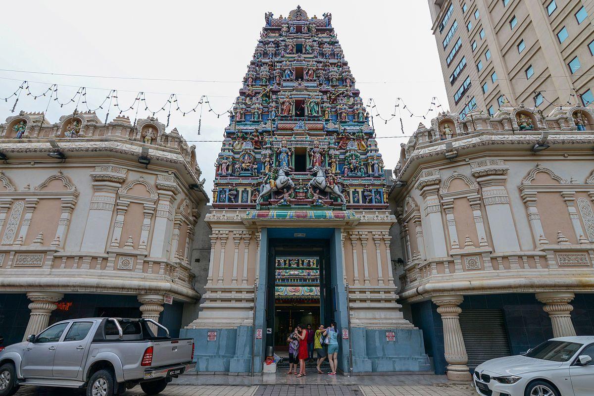 Ghé thăm đền Đền Sri Mahamariamman