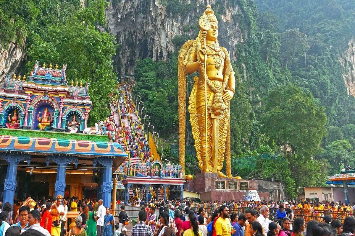 Địa điểm tổ chức lễ hội Thaipusam