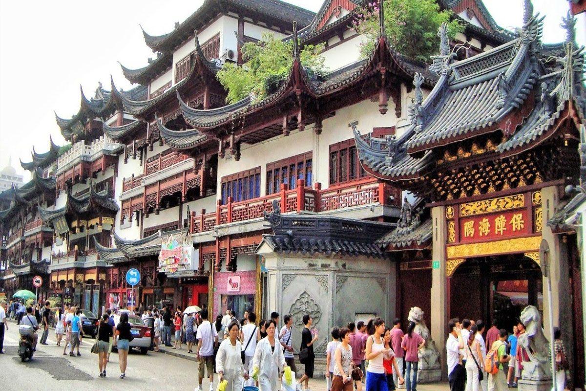 Phố cổ Thượng Hải