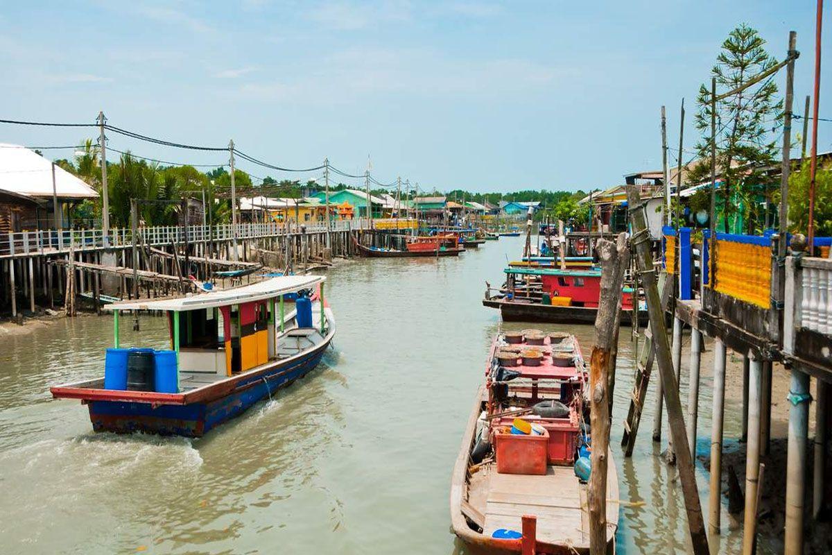 Làng Pulau Ketam (Đảo Cua)
