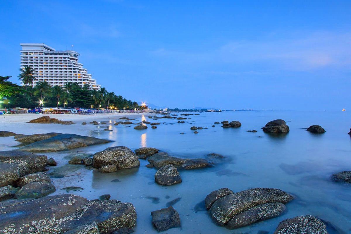 Thư giãn tại Hua Hin Beach