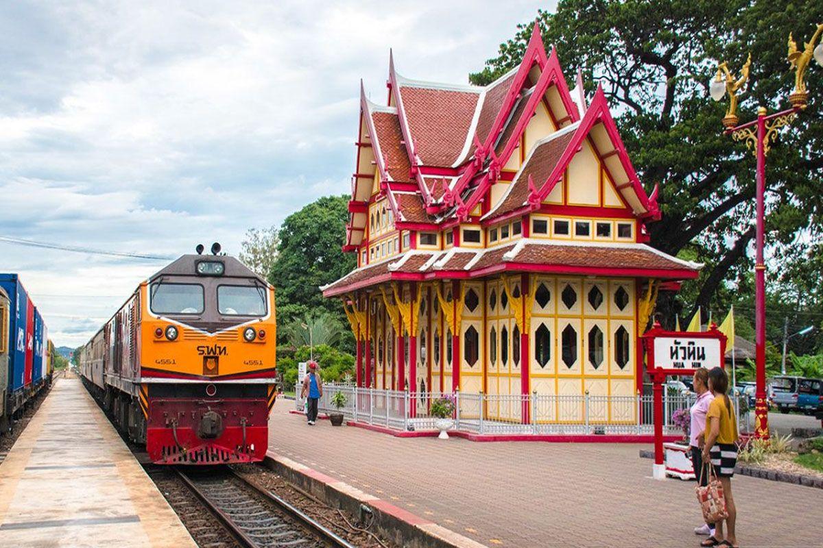 Khám phá ga tàu lửa cổ nhất Hua Hin - Hua Hin Railway Station