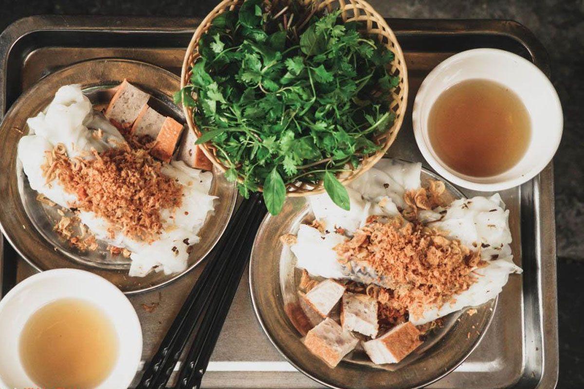 Bánh cuốn Bà Hoành - phố Thanh Trì