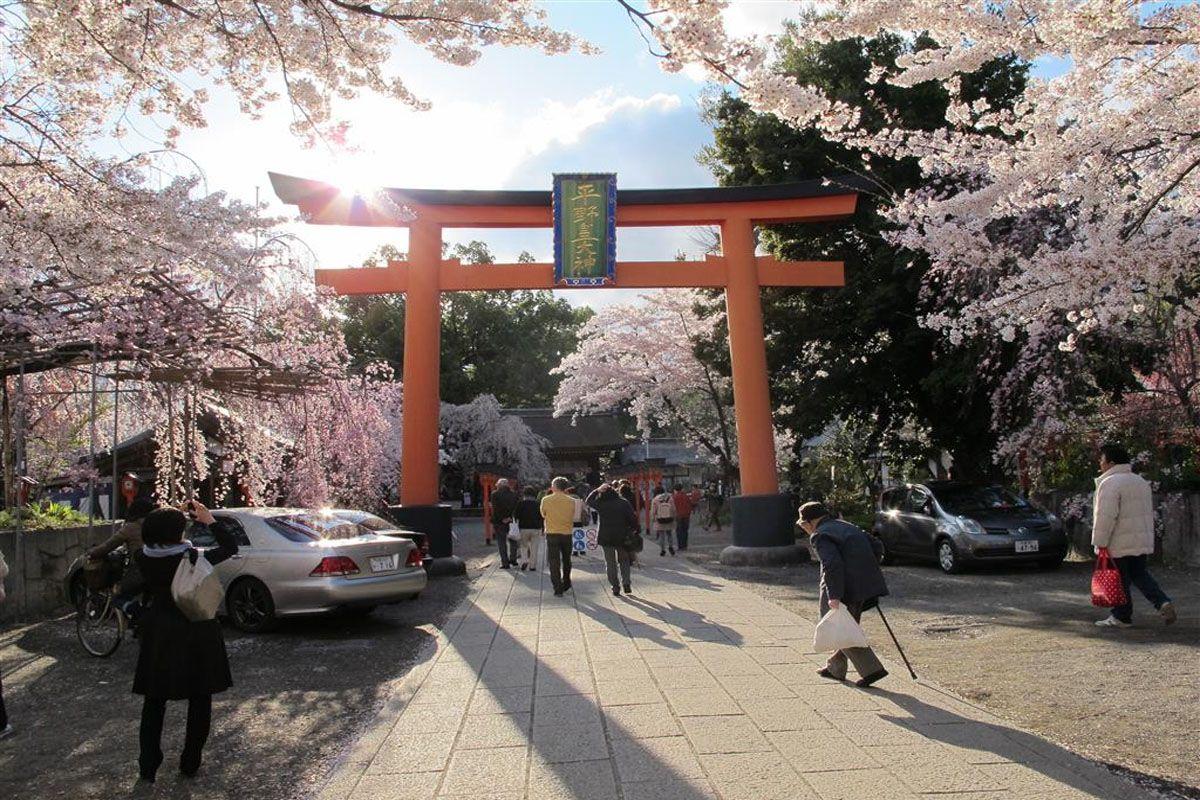 Hirano Shrine Temple