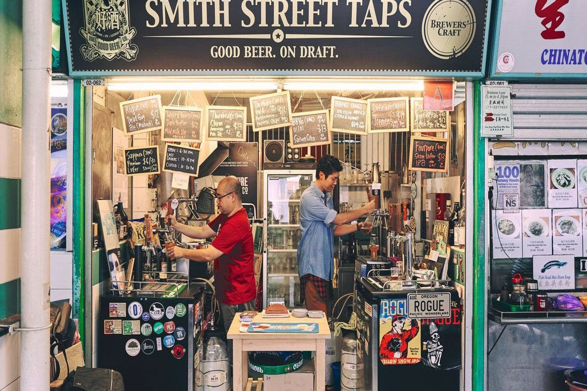 Quán bia thủ công Smith Street Taps