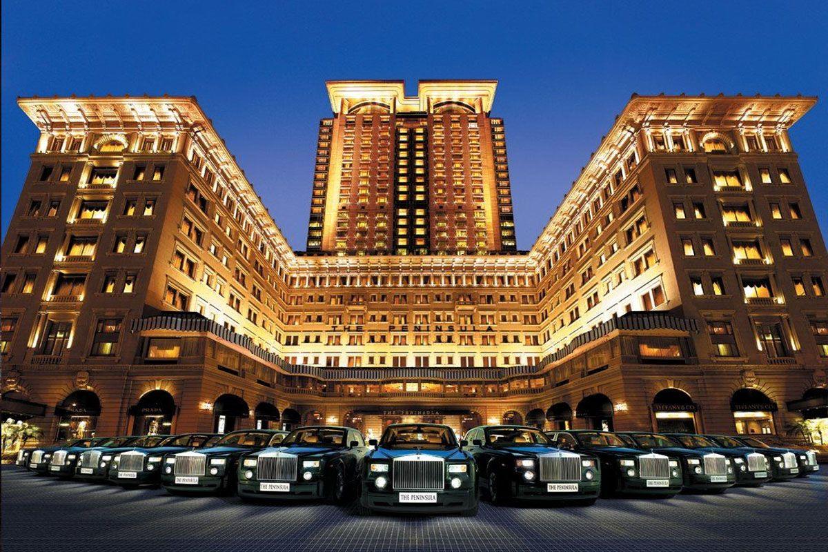 Khách sạn ở Hong kong