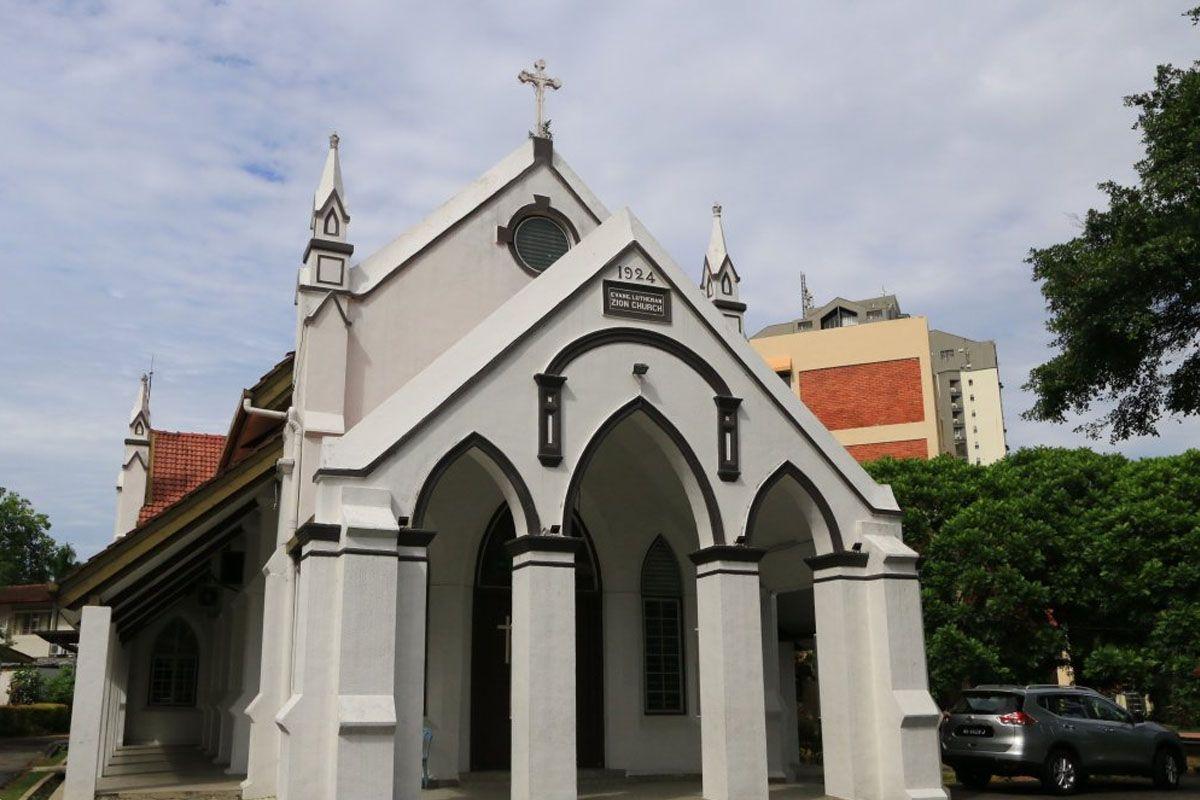 Thăm quan Nhà thờ Tin lành Lutheran