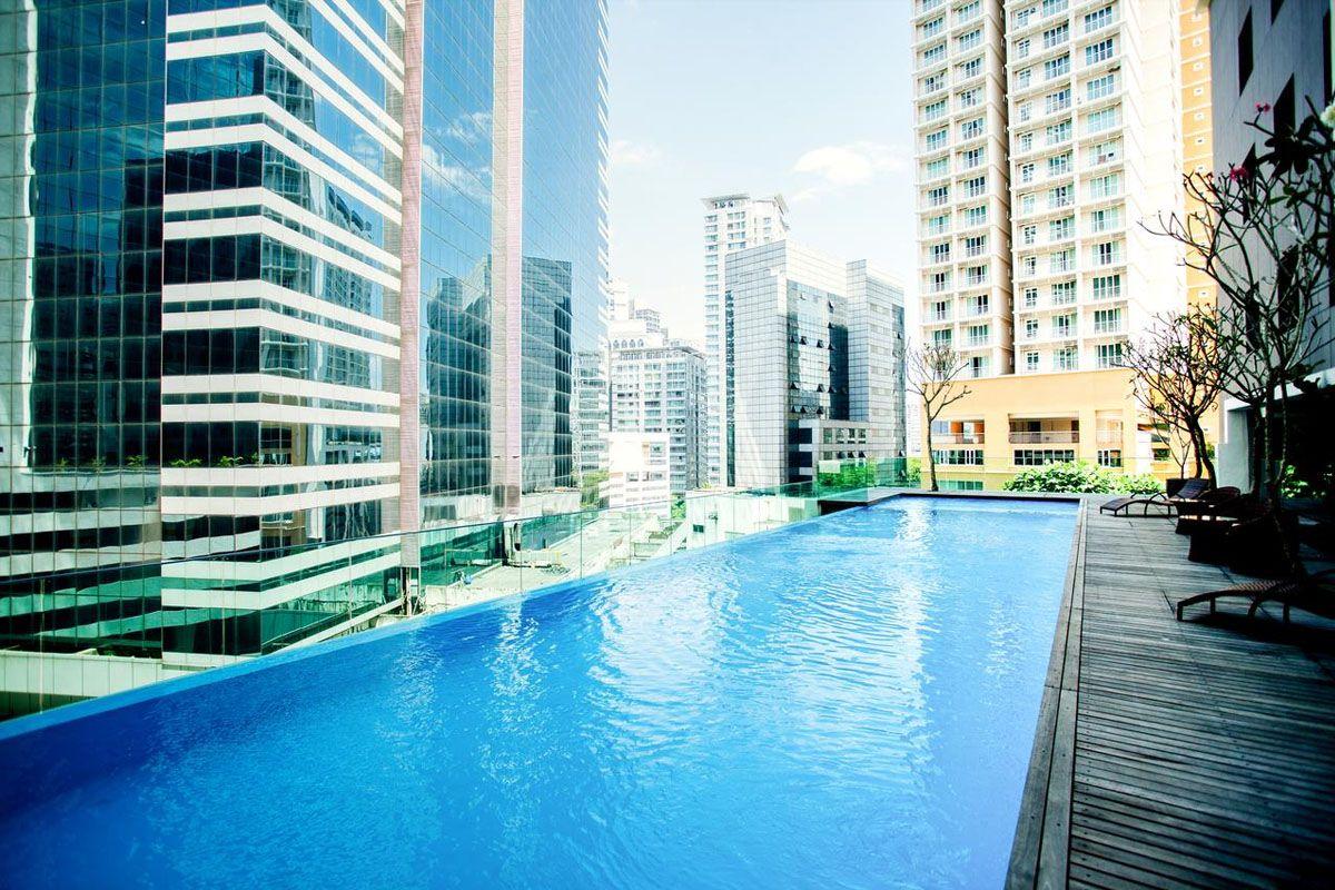 Bể bơi ở Khách sạn Verdant Hill Kuala Lumpur