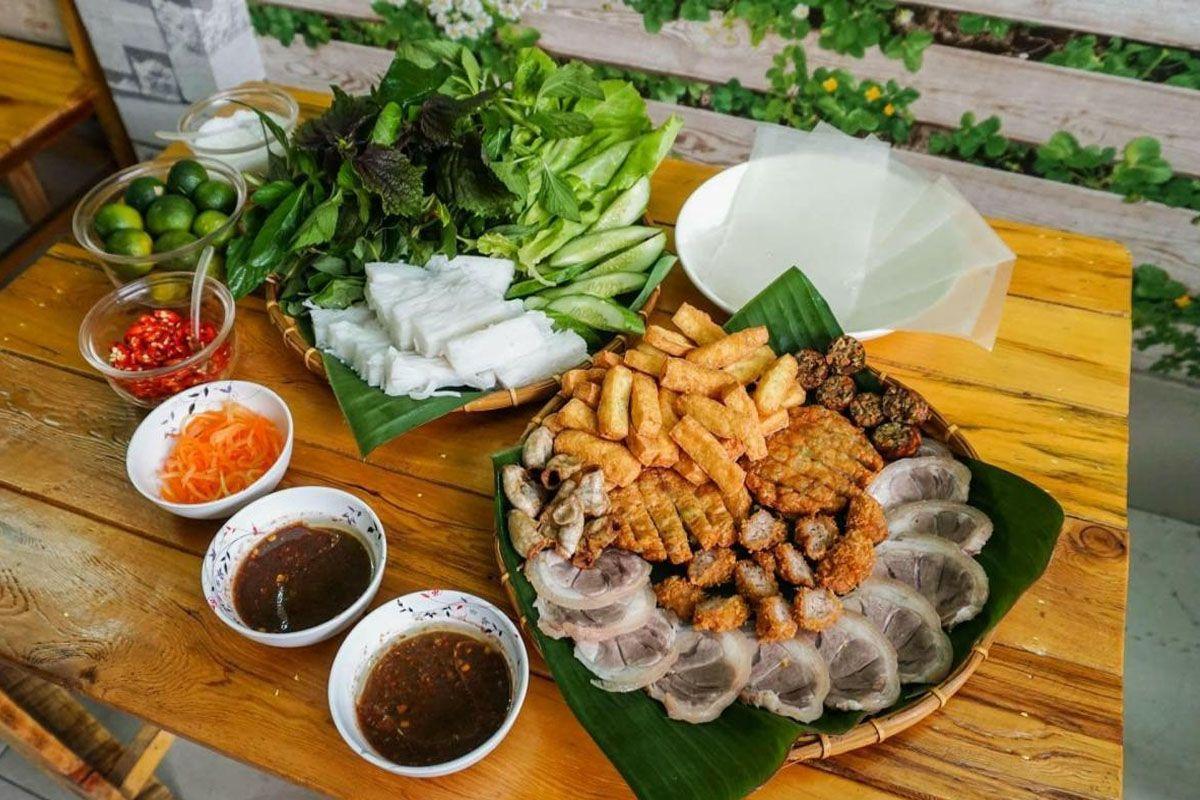 Bún đậu mắm tôm - Hàng Khay
