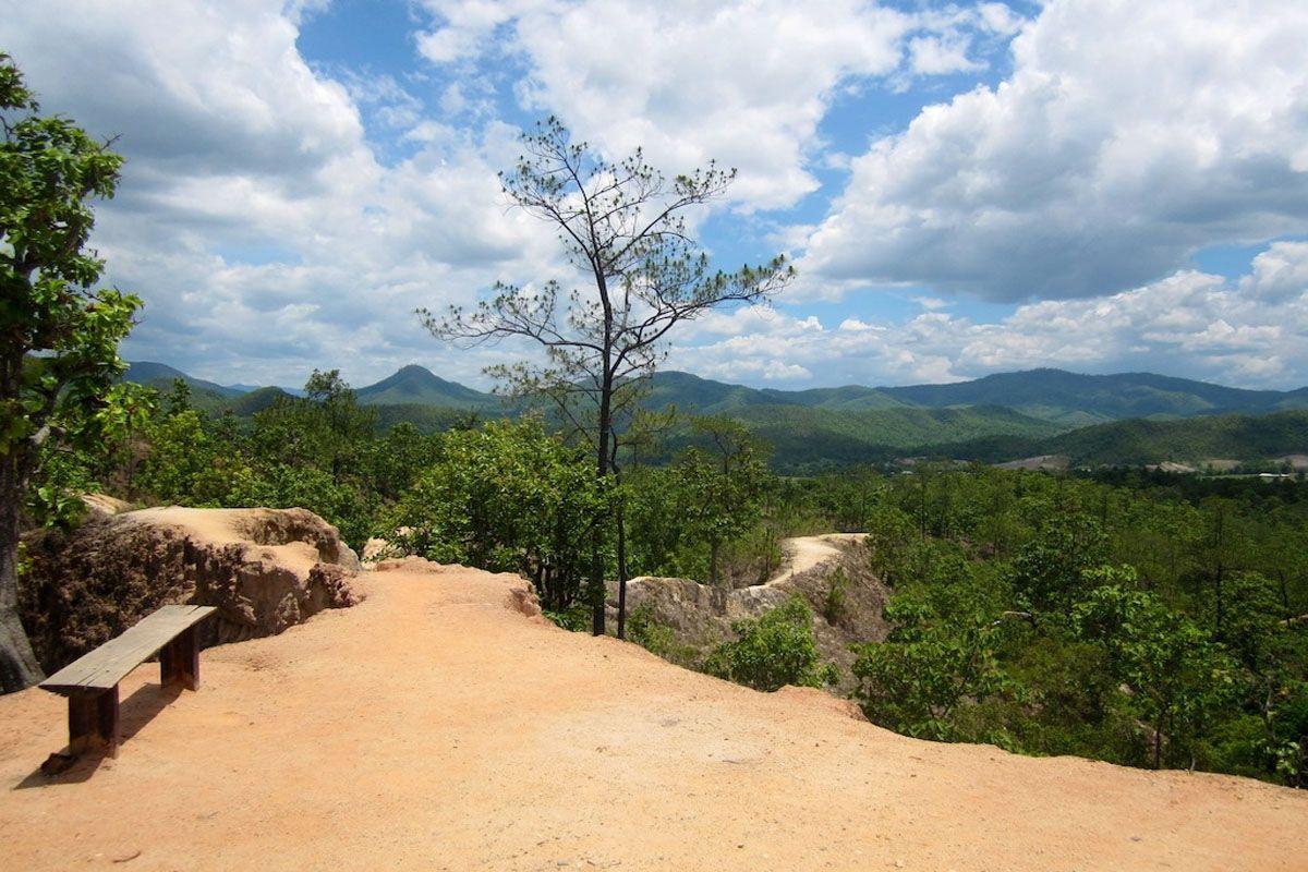 Phong cảnh tại hẻm núi Pai