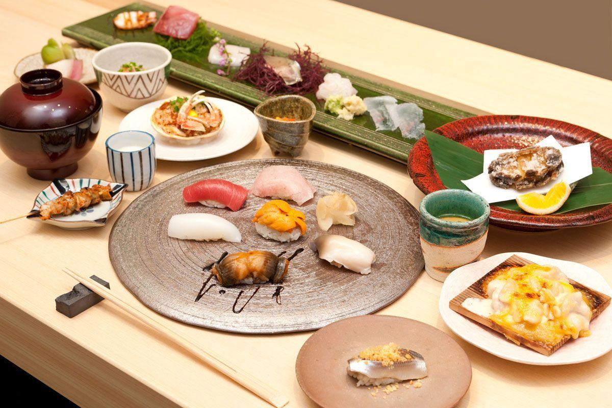 Sushi Kuriyagawa là nhà hàng sushi truyền thống tại quận Shibuya, Tokyo