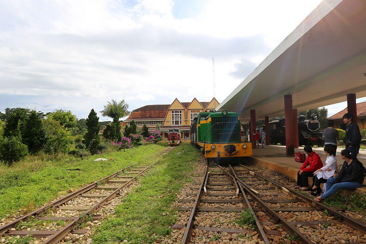 Trạm dừng chân xe lửa cổ - tìm về miền ký ức