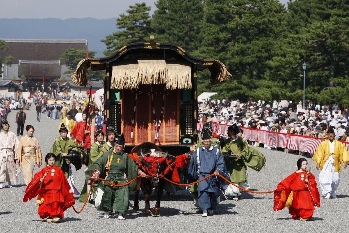 Lễ hội Jidai Matsuri - Đền Heian, Kyoto