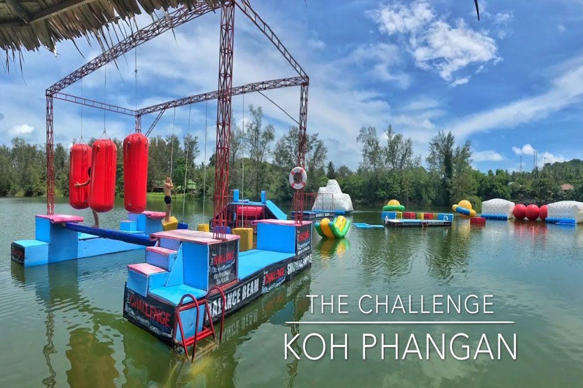 Trò chơi tại The Challenge Phangan
