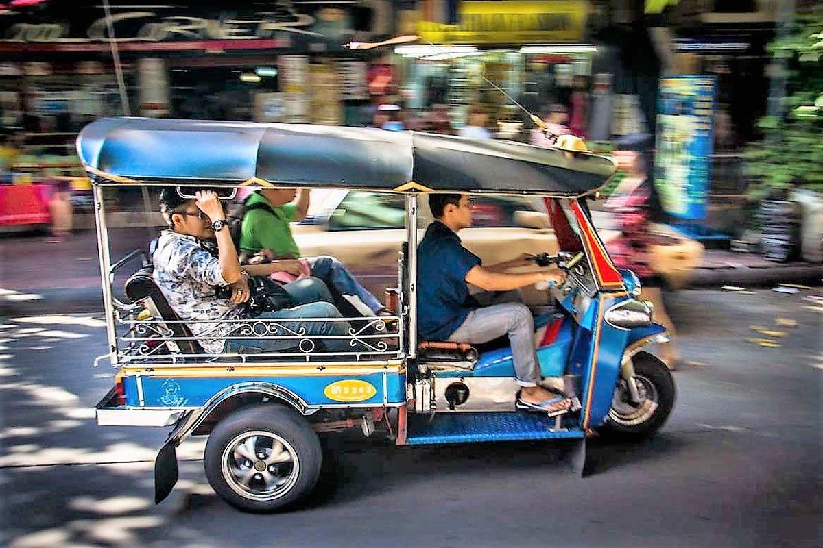 Xe tuk tuk, một nét văn hóa biểu tượng