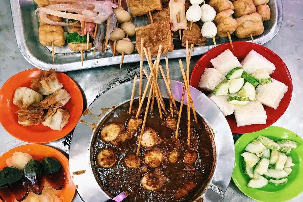 Thưởng thức những món ăn đường phố Melaka