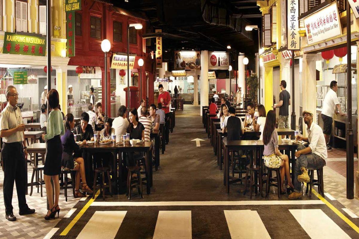 Phố ẩm thực Malaysia