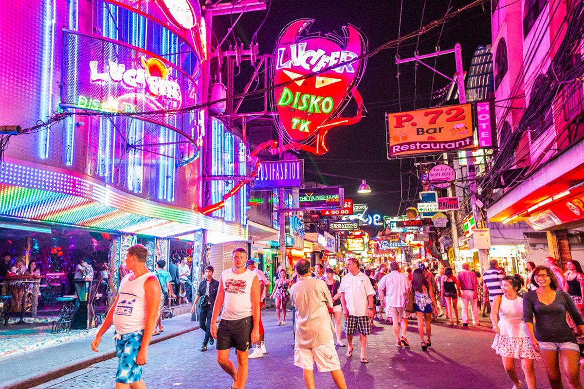 Phố đi bộ Pattaya