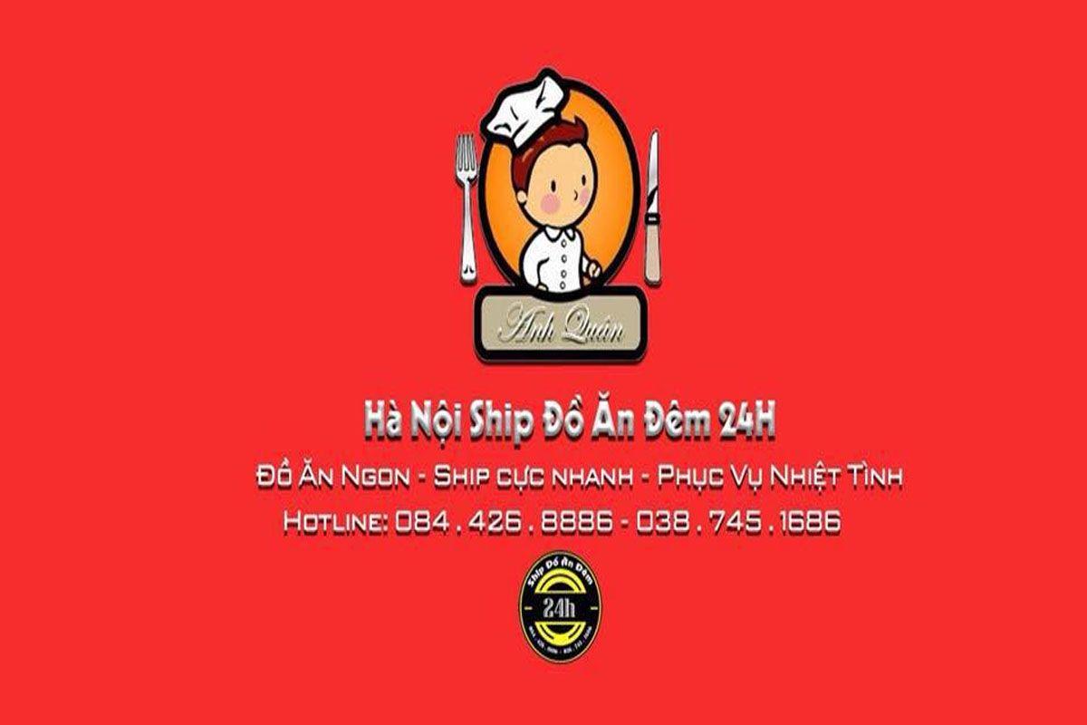 Hà Nội ship đồ ăn đêm 24h