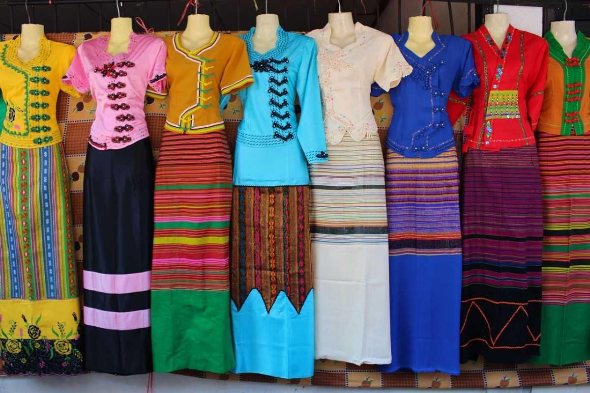 Áo quần truyền thống của người Thái Lan