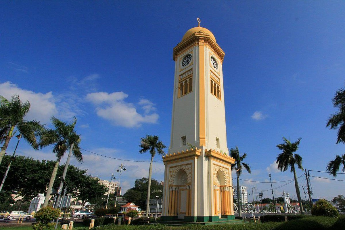 Tháp đồng hồ Menara Jam Besar (Alor Setar) tại Kedah
