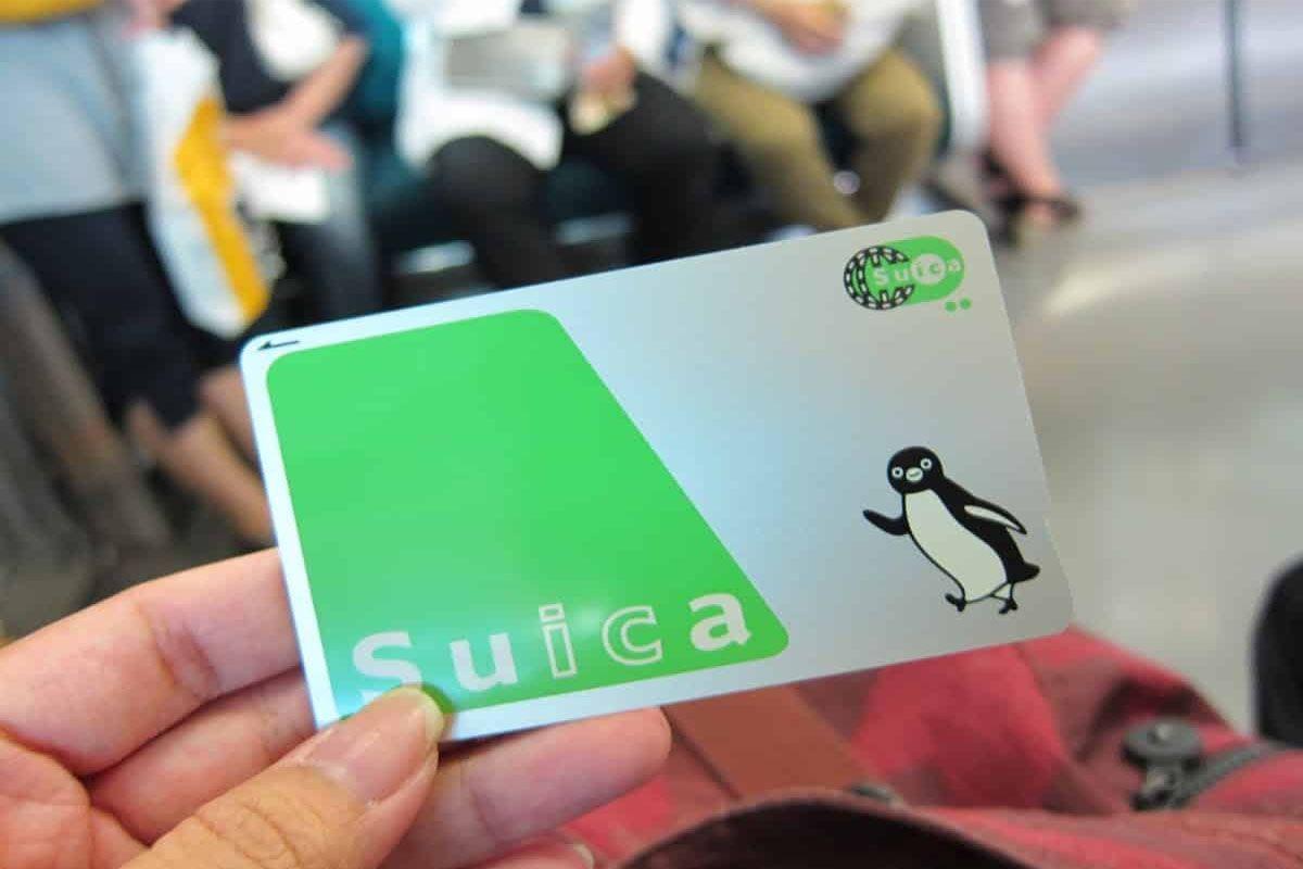 Thẻ đi tàu ở Nhật